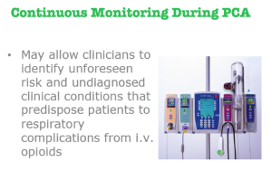 Harold Olgesby shares the benefits of continuous electronic monitoring during PCA.