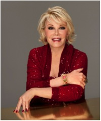 Joan Rivers - she made us laugh
